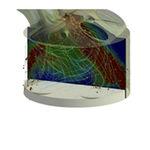 software de análise / de simulação / de design / de fluxo