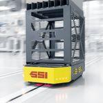 AGV de movimentação / para armazém
