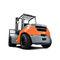 empilhadeira contrabalançada / a GLP / a diesel / com operador sentado a bordoTOYOTA Material Handling